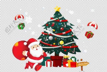 圣诞装饰背景元素图片