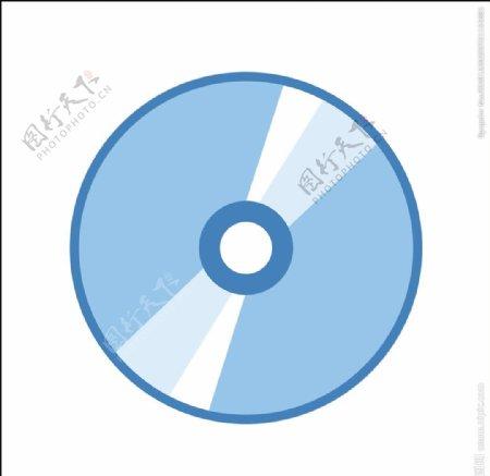 矢量光碟光盘图片