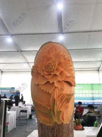 南瓜雕花图片