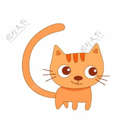 可爱简笔猫咪图片