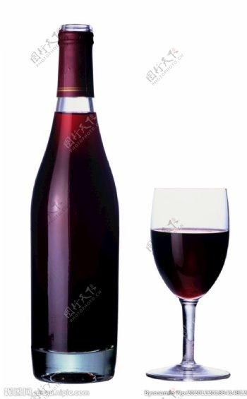 酒瓶酒杯PNG免抠图片