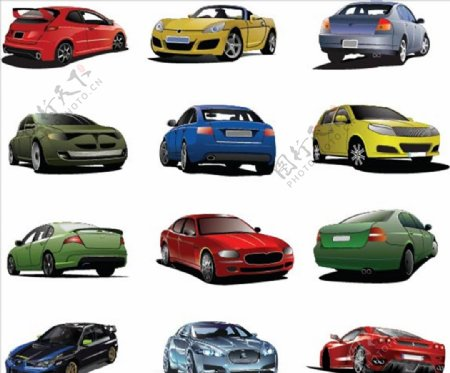 卡通汽车图片