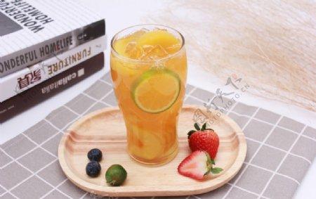 柠檬水柠檬饮品图片