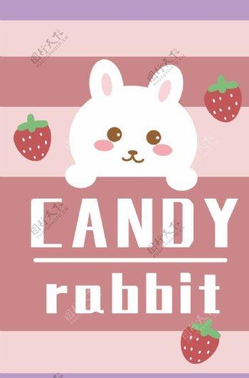 卡通兔子图案图片