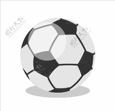 卡通足球球类图片