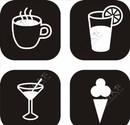 饮料标志图片
