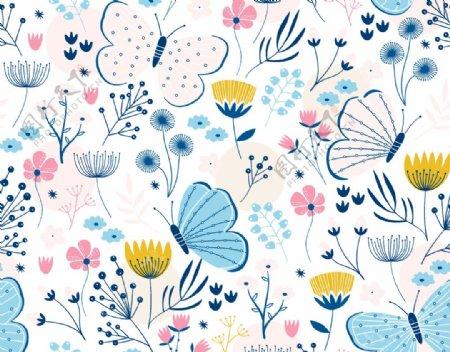 蝴蝶花图片