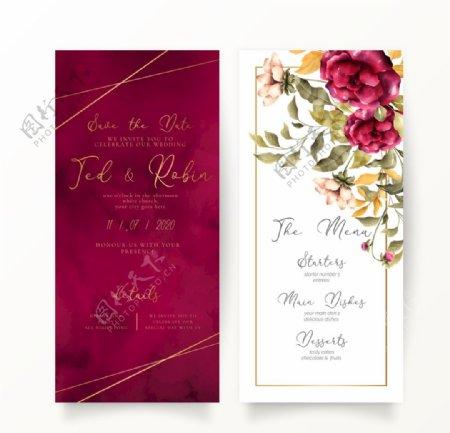 婚礼结婚请柬邀请函图片
